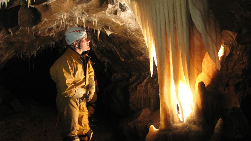 Have an adventure Foundation Caving Course