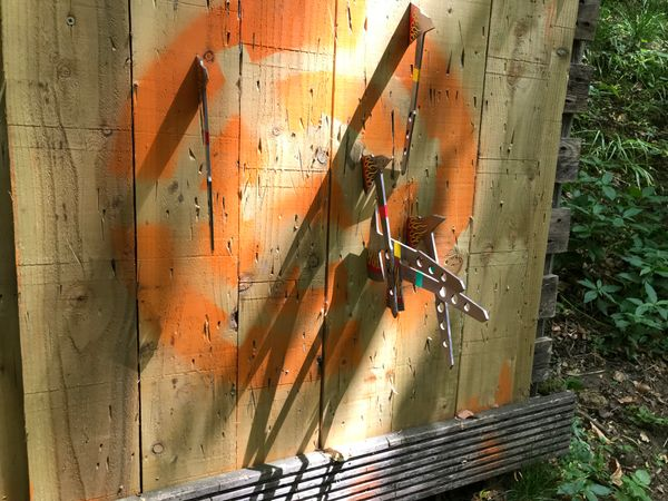 Have an adventure Axe Throwing